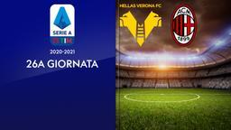 Verona - Milan. 26a g.