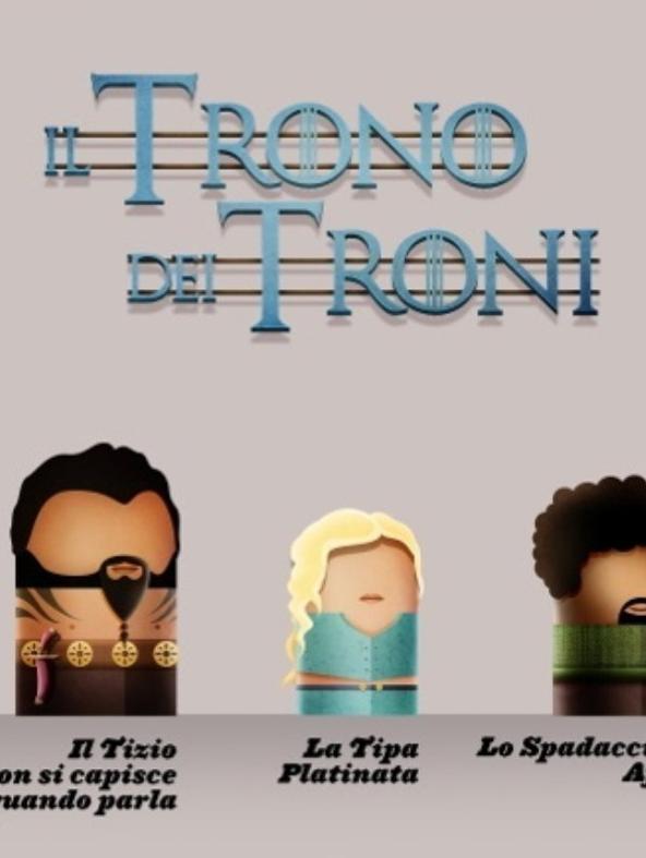 I Diti ne 'Il Trono dei Troni'