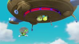 I cuccioli salvano i loro amici volanti / I cuccioli salvano un satellite
