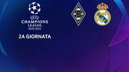 Borussia Moenchengladbach - Real Madrid. 2a g.
