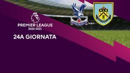 Crystal Palace - Burnley. 24a g.