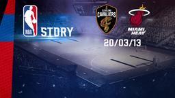 Cleveland - Miami 20/03/2013
