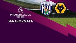 West Bromwich Albion - Wolverhampton. 34a g.