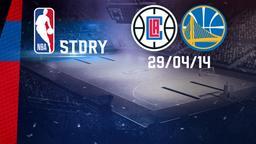 LA Clippers - Golden State 29/04/14. Gara 5