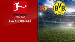 Union Berlino - Borussia Dortmund. 13a g.