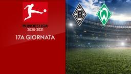 Borussia Moenchengladbach - Werder Brema. 17a g.