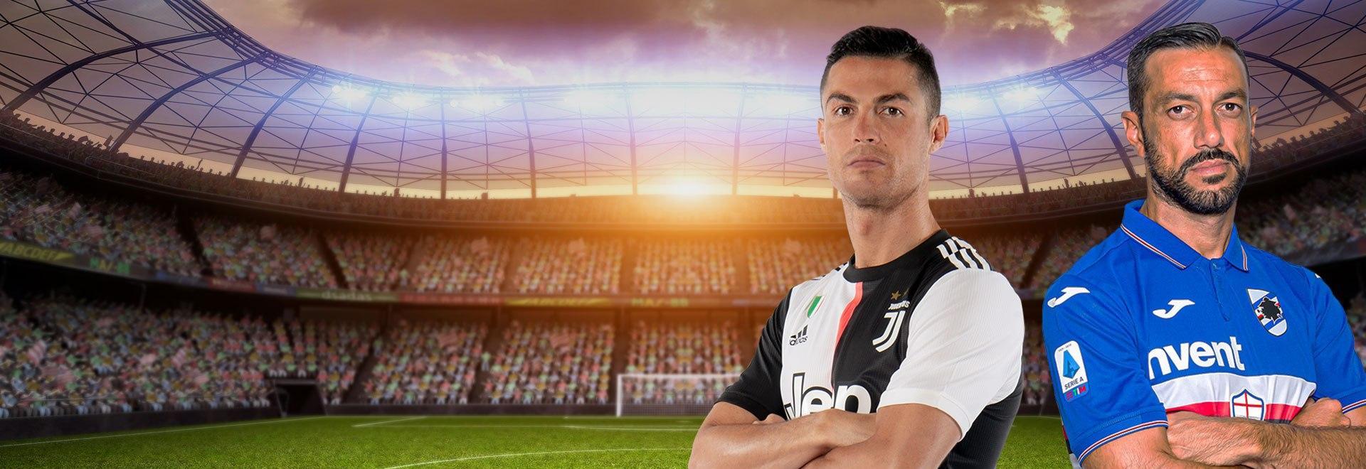 Juventus - Sampdoria. 36a g.