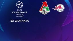 Lokomotiv Mosca - Salzburg. 5a g.