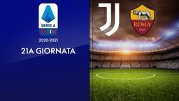 Juventus - Roma. 21a g.