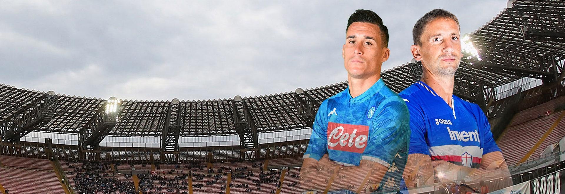 Napoli - Sampdoria. 22a g.