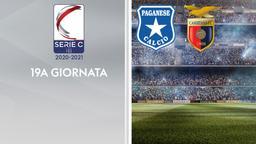 Paganese - Casertana. 19a g.