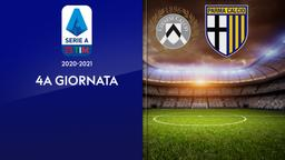 Udinese - Parma. 4a g.