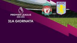 Liverpool - Aston Villa. 31a g.