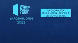 Sardegna Open: 1a g. F/M Sessione serale