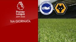 Brighton & Hove Albion - Wolverhampton. 16a g.