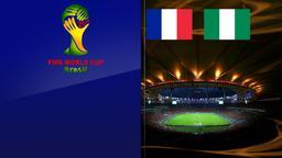 Francia - Nigeria. Ottavi di finale
