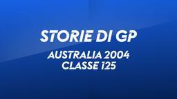 Australia, Phillip Island 2004. Classe 125