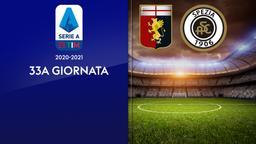 Genoa - Spezia. 33a g.