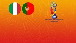 Italia - Portogallo. Finale