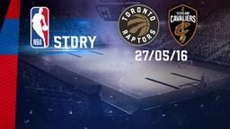Toronto - Cleveland 27/05/16. Playoff. Eastern Conference Finals. Gara 6