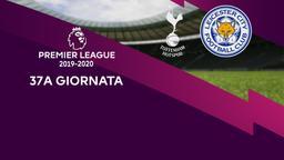 Tottenham - Leicester City. 37a g.