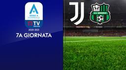 Juventus - Sassuolo. 7a g.