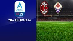 Milan - Fiorentina. 20a g.