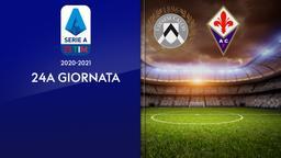 Udinese - Fiorentina. 24a g.