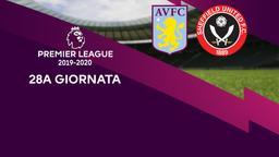 Aston Villa - Sheffield United. 28a g.