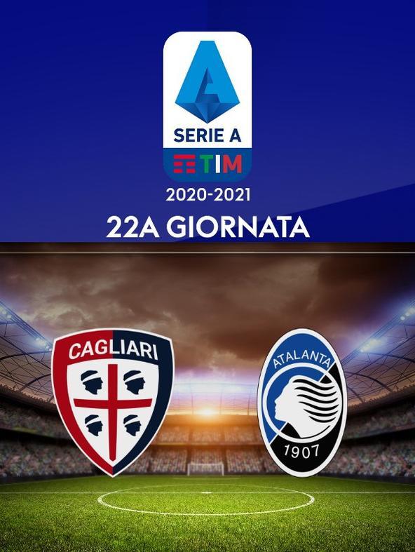 Cagliari - Atalanta. 22a g.