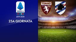 Torino - Sampdoria. 23a g.