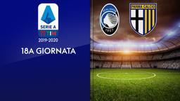 Atalanta - Parma. 18a g.