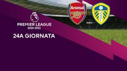 Arsenal - Leeds. 24a g.