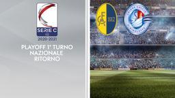 Modena - Albinoleffe. Playoff 1° turno Nazionale Ritorno