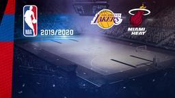 LA Lakers - Miami. Finals Gara 7