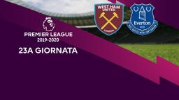 West Ham United - Everton. 23a g.