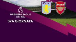 Aston Villa - Arsenal. 37a g.