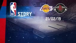 LA Lakers - Houston 21/02/19