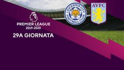 Leicester City - Aston Villa. 29a g.