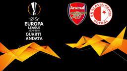 Arsenal - Slavia Praga. Quarti Andata