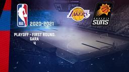 LA Lakers - Phoenix. Playoff - First Round. Gara 4