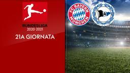 Bayern Monaco - Arminia Bielefeld. 21a g.