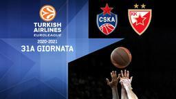CSKA Mosca - Stella Rossa. 31a g.