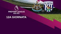 Newcastle - West Bromwich Albion. 12a g.