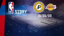 Indiana - LA Lakers 19/06/00. Finals Gara 6