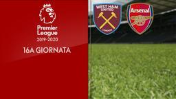 West Ham United - Arsenal. 16a g.