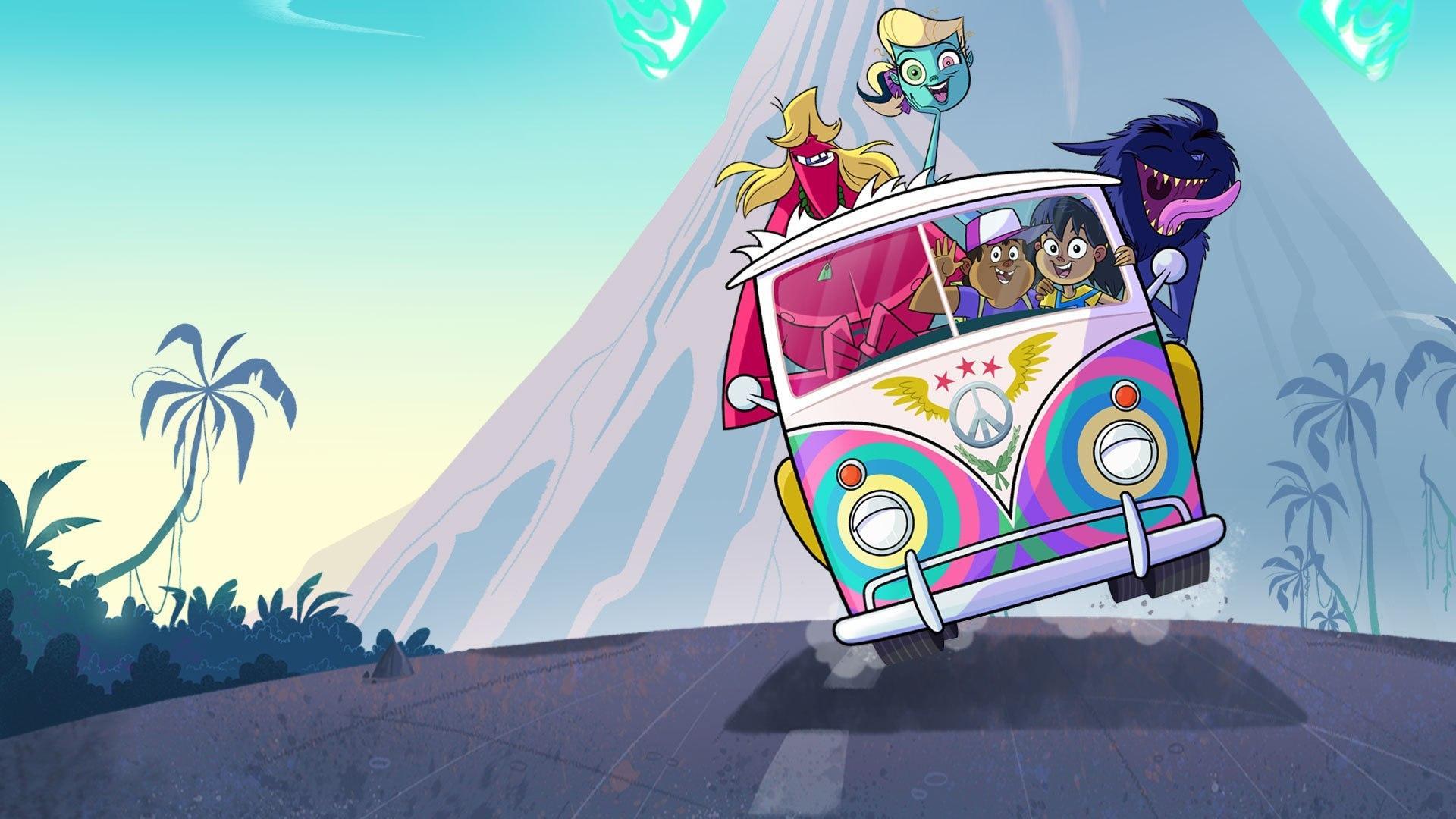Cartoon +1 Monster Beach