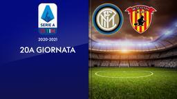 Inter - Benevento. 20a g.