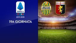 Verona - Genoa. 19a g.