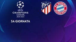 Atletico Madrid - Bayern Monaco. 5a g.